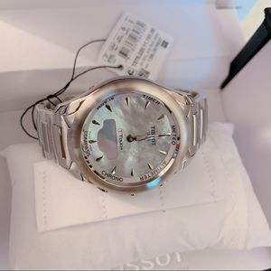 TISSOT T-Touch Solar Lady Mother of Pearl Dial